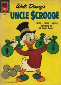 Vintage Children's magazine cover poster - Uncle Scrooge